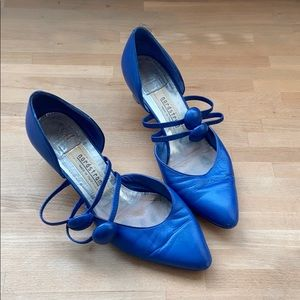 Blue Vintage Nordstrom made in Italy 37.5